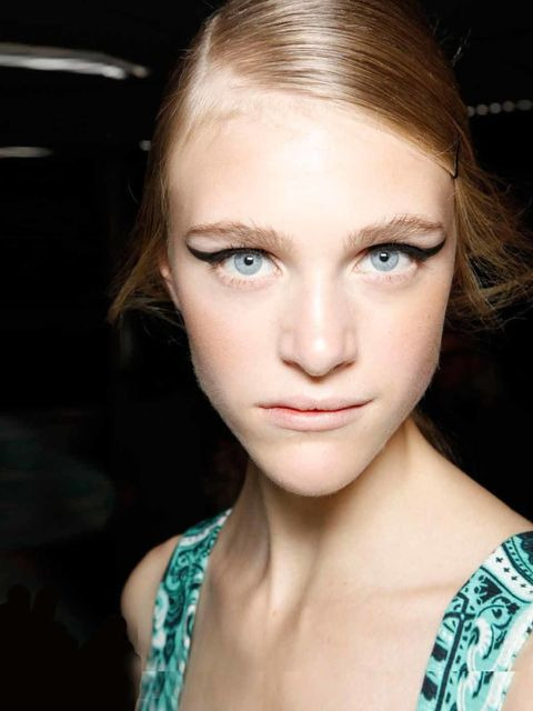 <p>For SS12 there's no easier way to update an old season hairstyle, than pairing it with a simple side parting. Just think of it as the statement necklace to your LBD – this season just a tiny tweak will add instant fashion kudos to eve