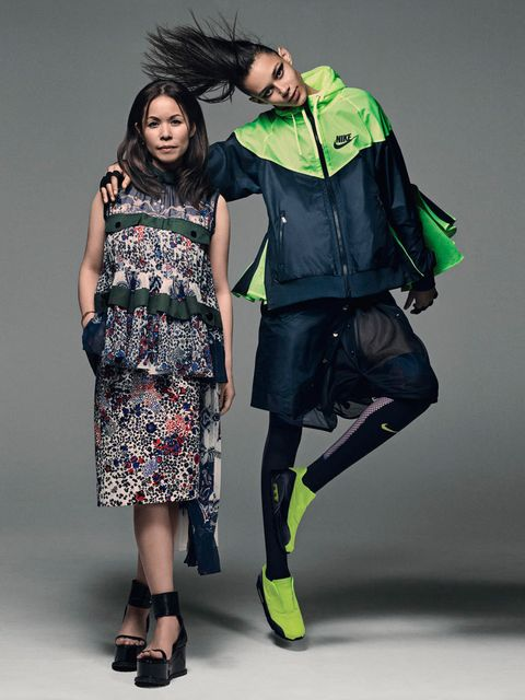 Chitose Abe of Sacai has partnered with NikeLab and put her brilliantly unexpected spin on some of the sports label's most classic pieces.Available from nike.com from 19 March