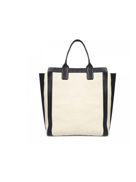 """<p>Chloe bag, £885, at <a href=""""http://www.harveynichols.com/womens/categories-1/designer-bags/totes/s442621-alyson-leather-tote.html?colour=WHITE+AND+BLACK"""">Harvey Nichols</a></p>"""