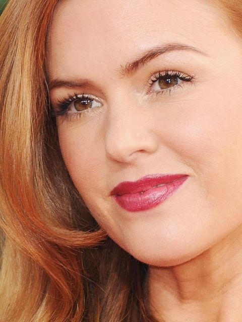 "<p><a href=""http://www.elleuk.com/star-style/red-carpet/golden-globes-2013"">Isla Fisher, </a>Golden Globes 2013</p>"