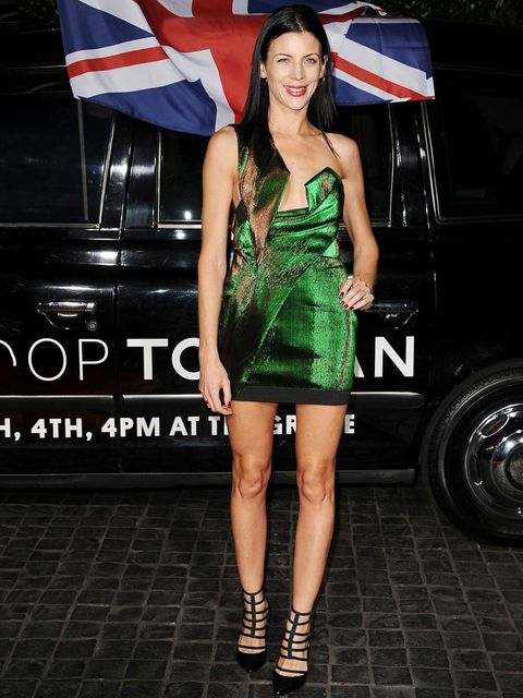 <p>Liberty Ross at the Topshop opening in Hollywood, February 2013.</p>