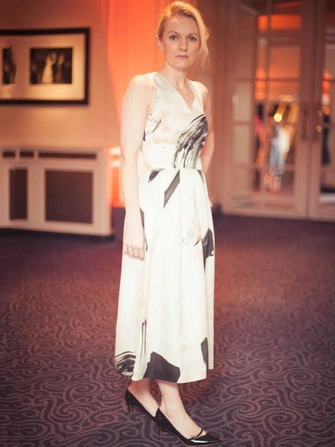 <p>Lorraine Candy - Editor-In-ChiefChristopher Kane dress, Rupert Sanderson shoes, Christian Louboutin clutch.</p>