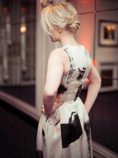 <p>Christopher Kane dress.</p>