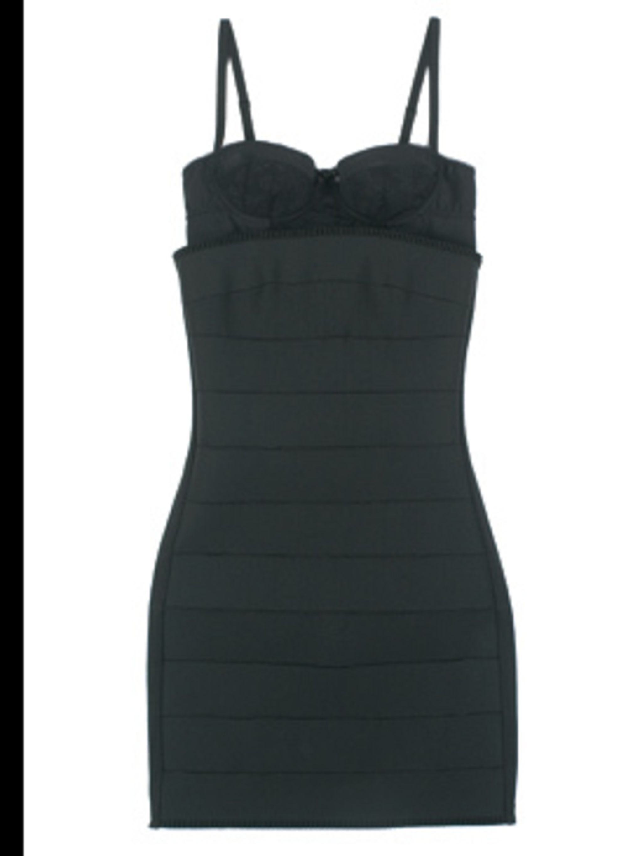 <p>Cotton and elastane dress £165 by D&G, for stockists call 020 7495 9250</p>