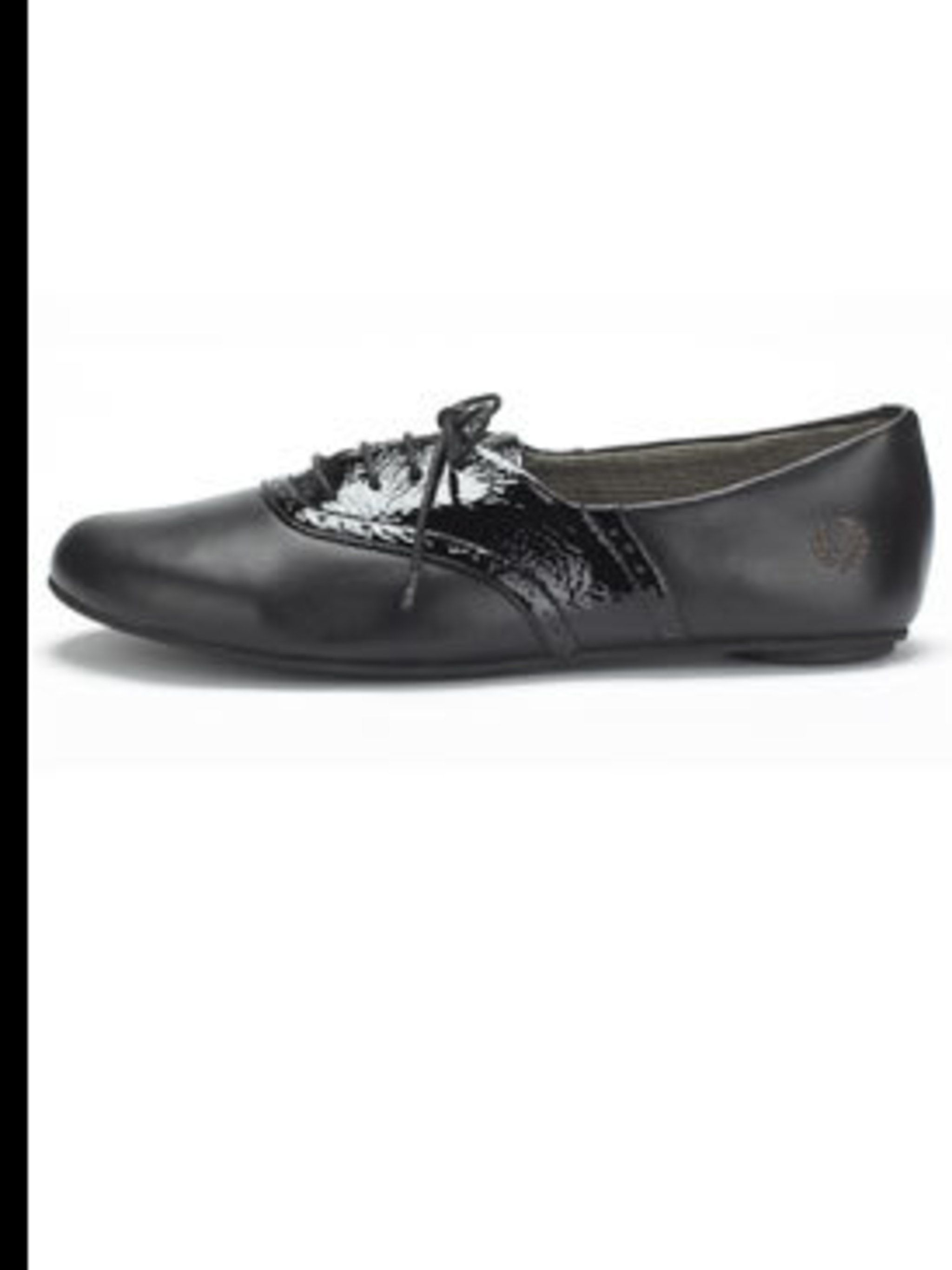 "<p>Black patent brogues, £60, by Fred Perry at <a href=""http://www.office.co.uk/perl/go.pl/home.html"">Office</a></p>"