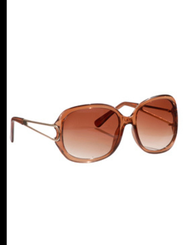 <p>Round tan sunglasses, £6, Matalan, 0845 330 333</p>