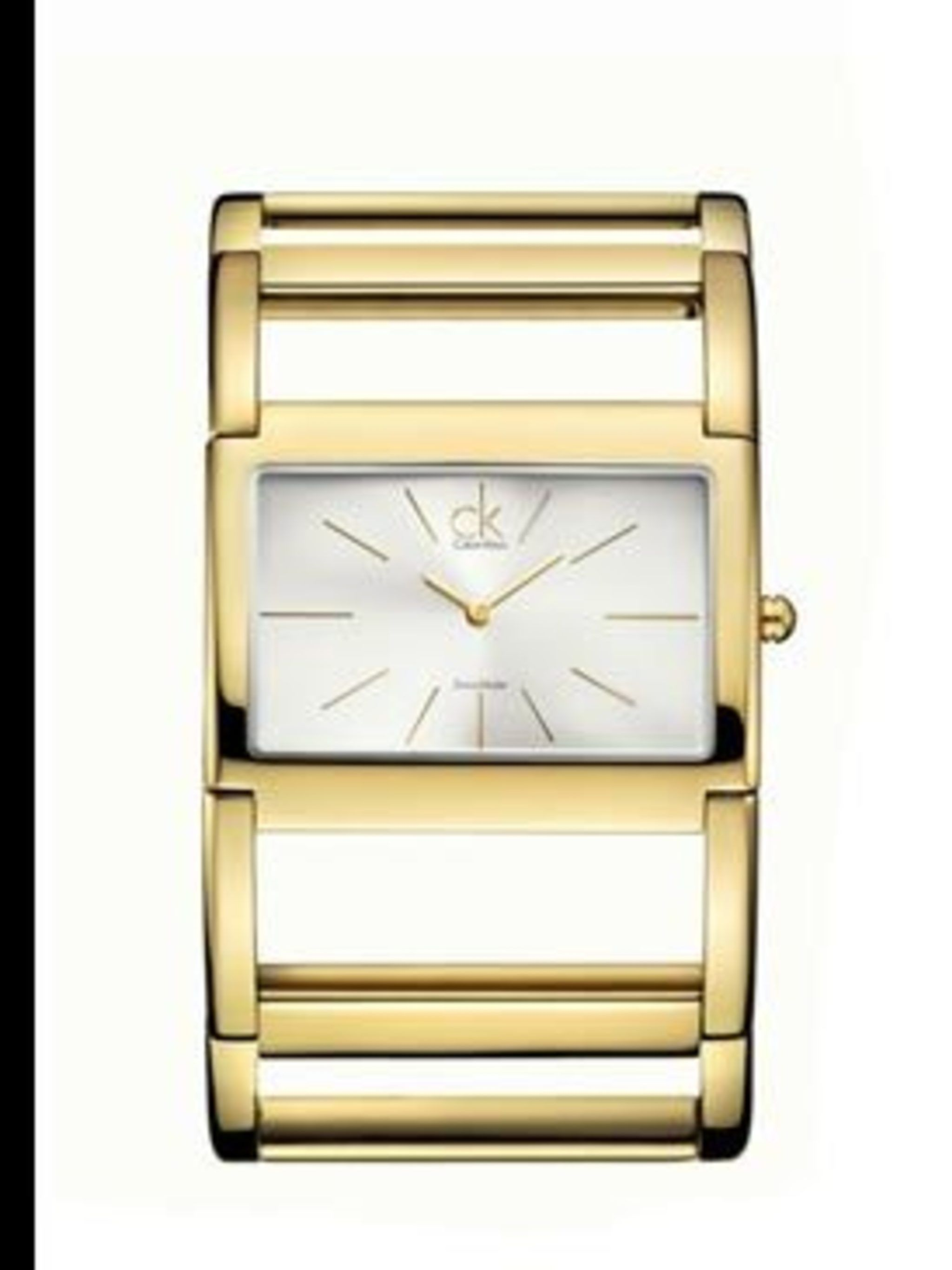 <p>ck New Dress Collection watch, £215, 0845 296 2447</p>
