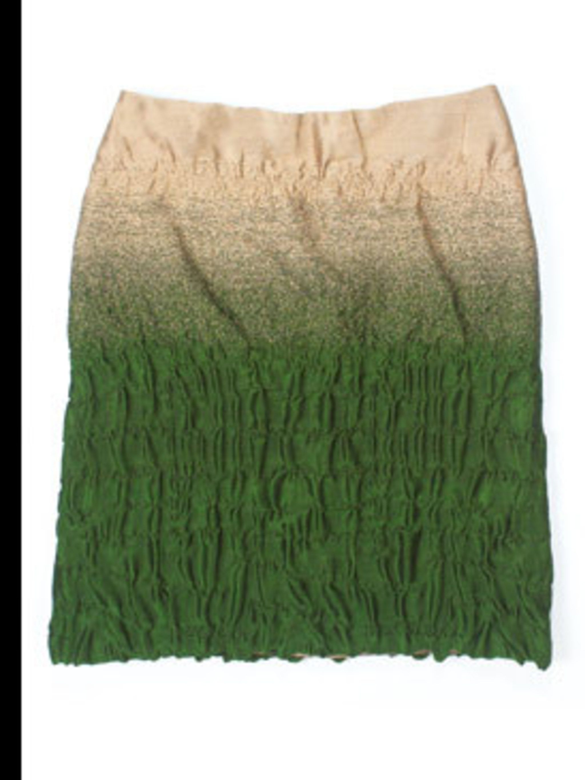 <p>Wool skirt £160 by Prada, for stockists call 020 7235 0008</p>