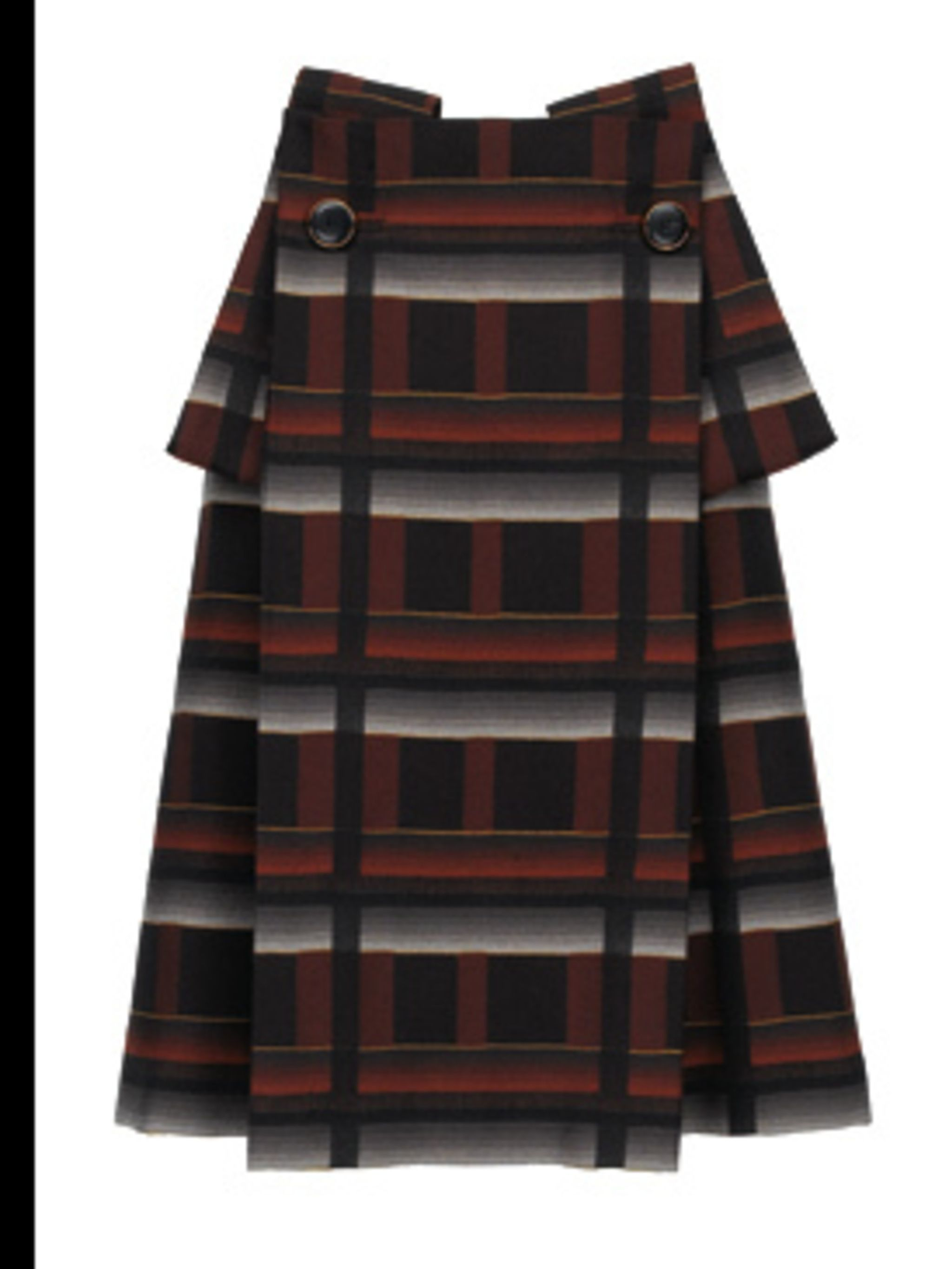 <p>Tartan style skirt £550 by Gucci, for stockists call 020 7629 2716</p>