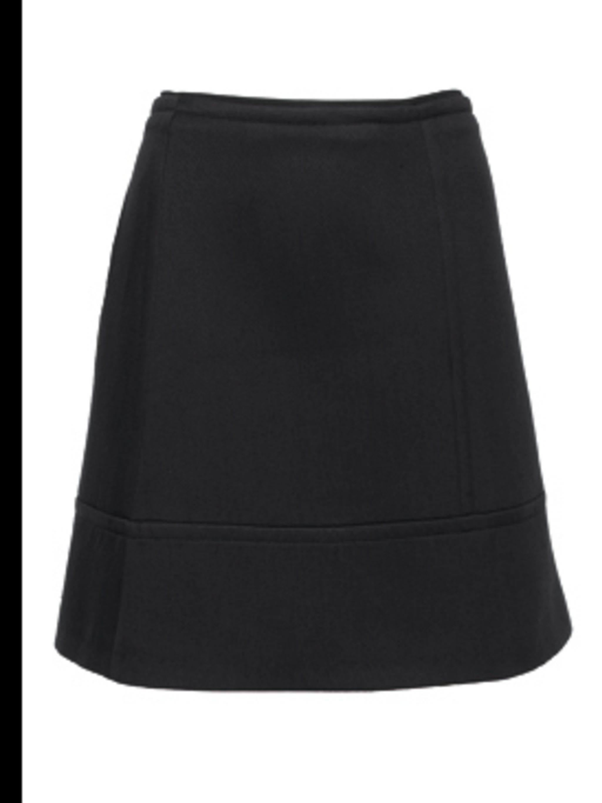 <p>Black skirt by Stella McCartney, for stockists call 020 7518 3100 </p>