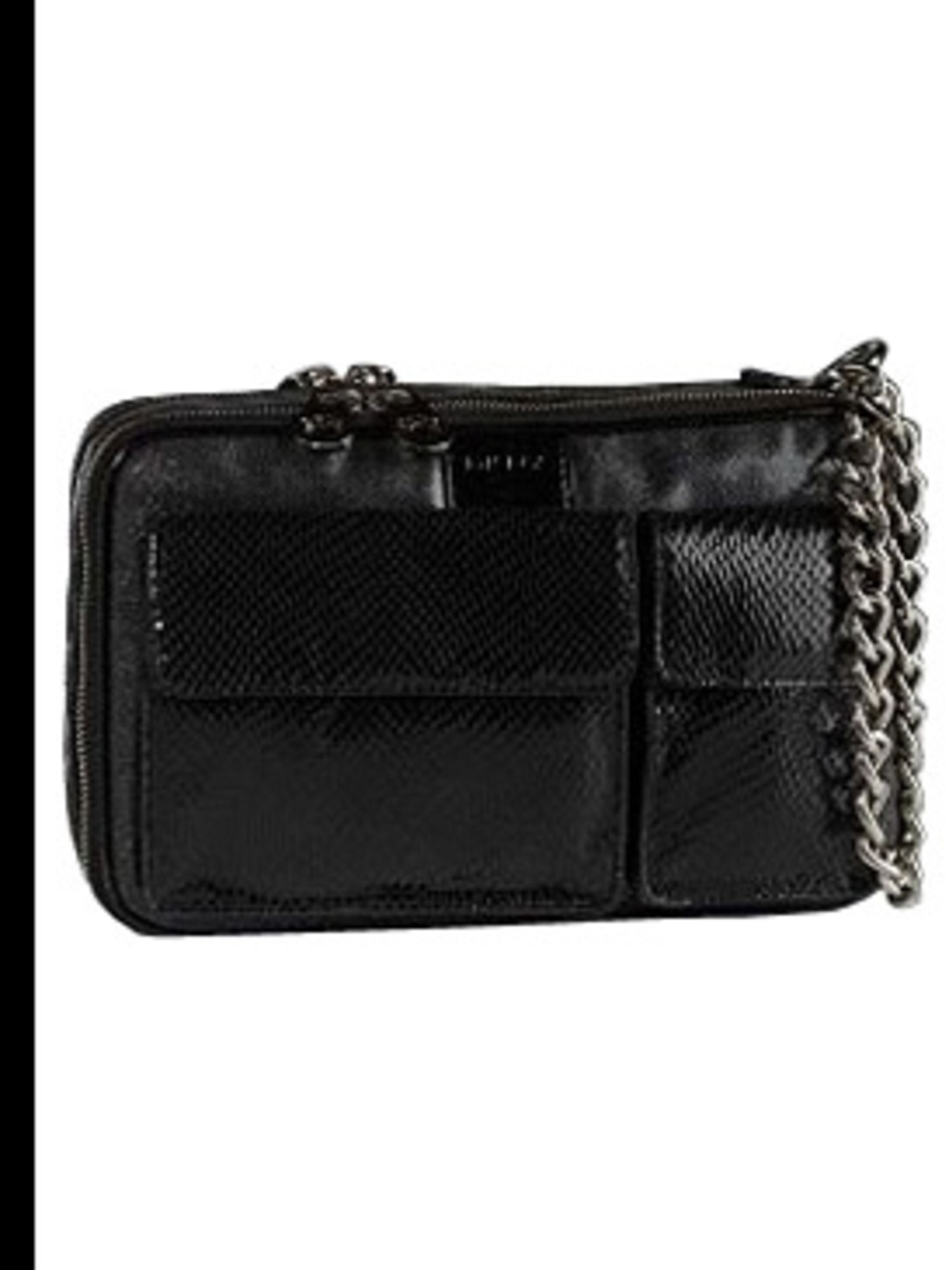 <p>Runway wrist bag £ by DKNY, for stockists call 020 7499 6238</p>