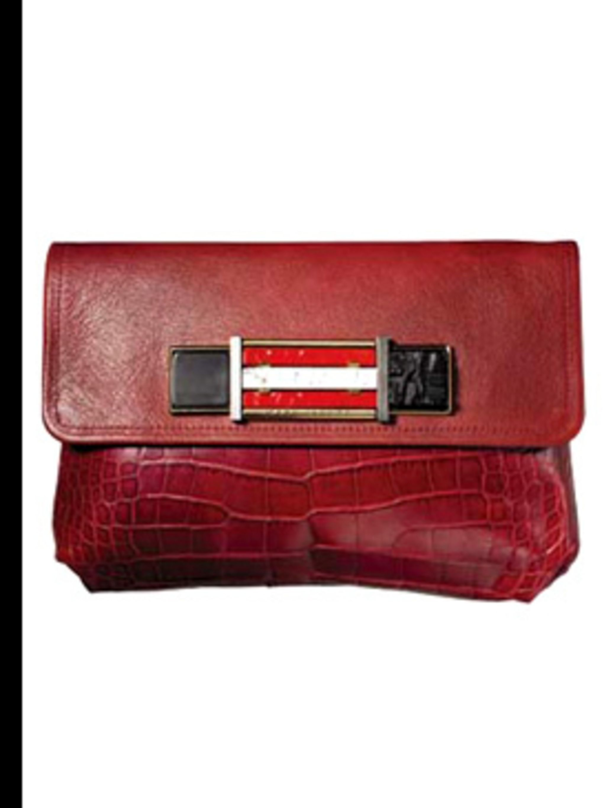 <p>Crocodile clutch, price on request, by Marc Jacobs, for stockists call 020 7399 1690</p>