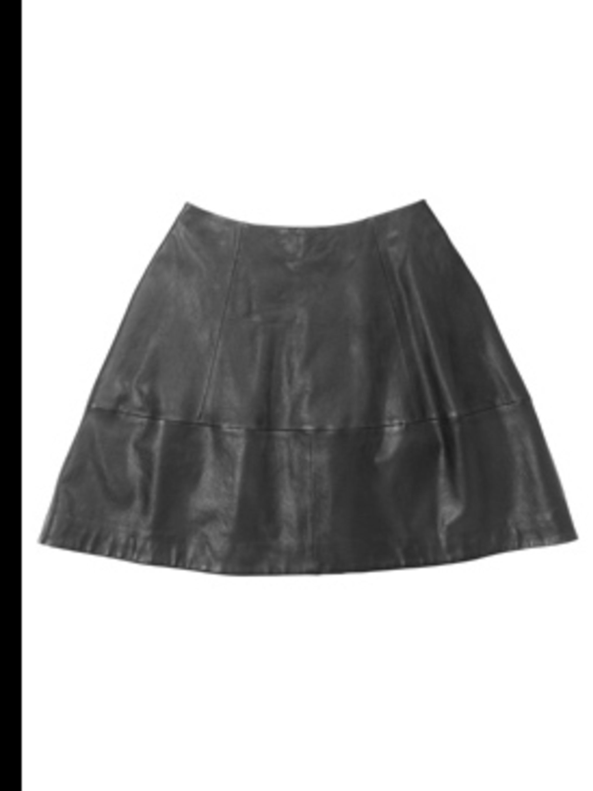 <p>Leather skirt, £190.00 by Cos. For stockists call 0207 478 0400</p>