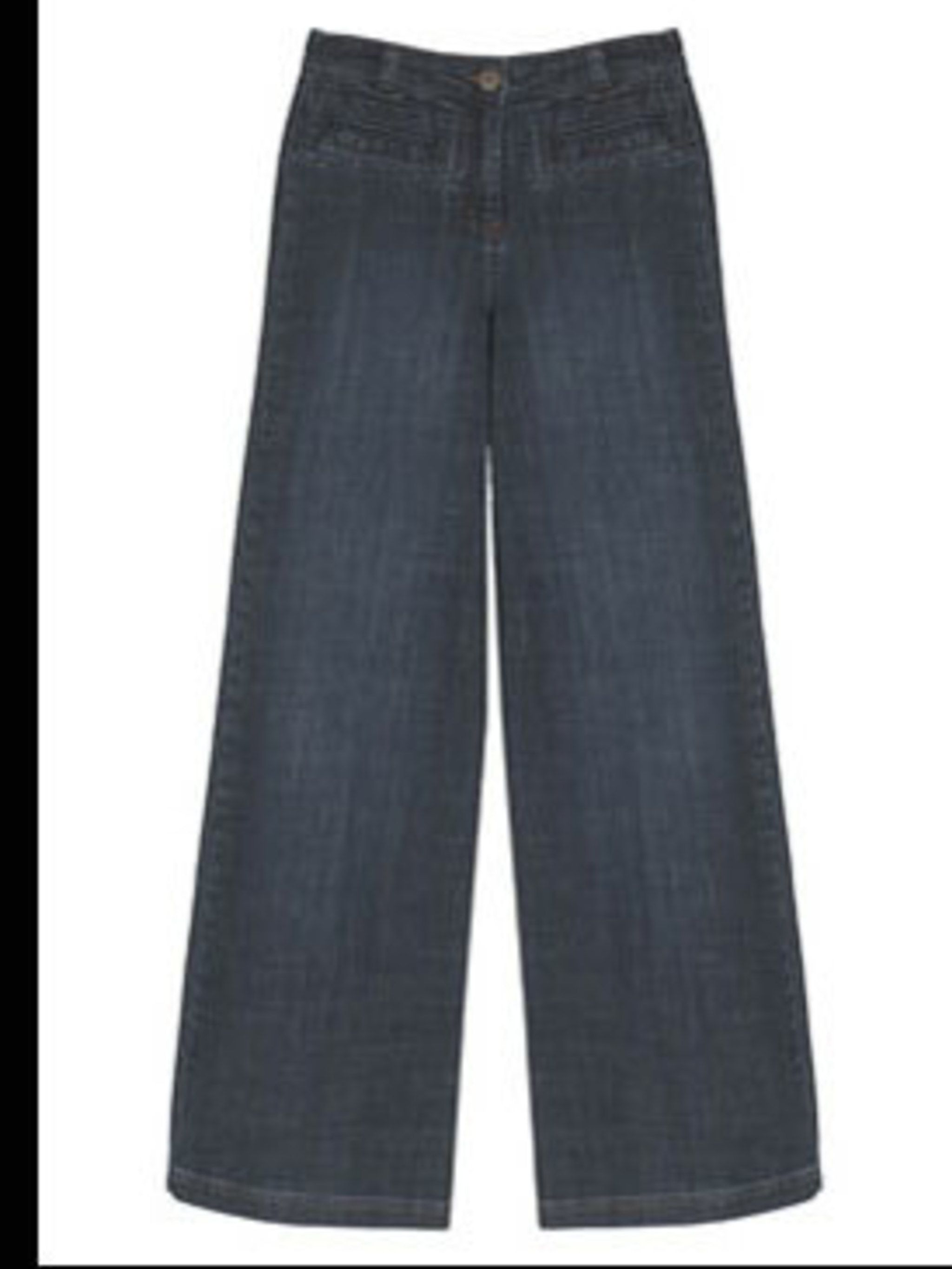 <p>Wide Leg Jeans, £40 from Wallis for stockists call 0845 121 4520</p>