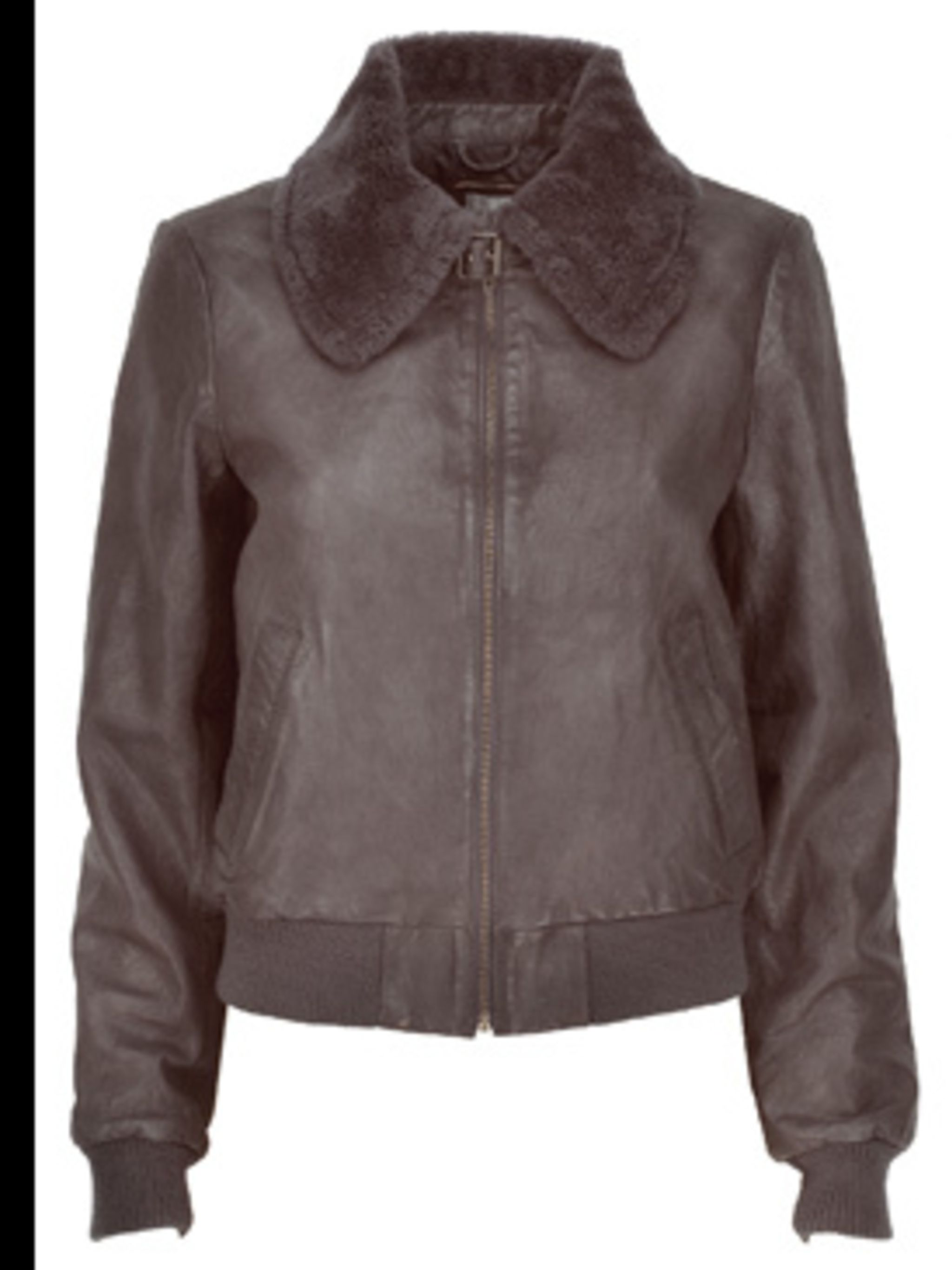 <p>Bomber jacket, £198, from Gap, for stockists call 0800 427 789 </p>