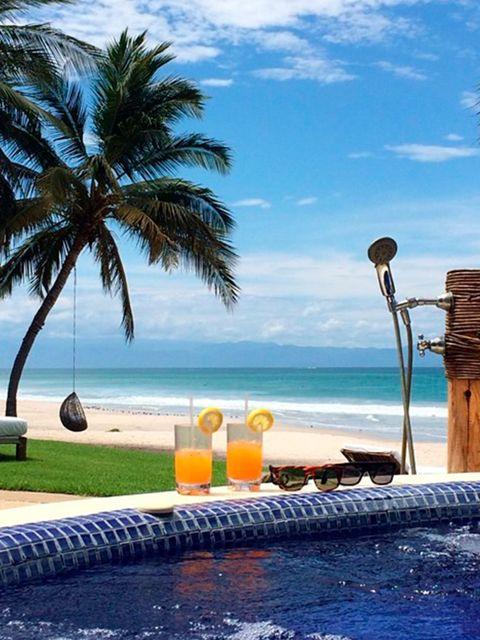 <p>No better place to be...Thank you Joe Francis!!!! #CasaAramara #PuntaMita @kimkardashian</p>