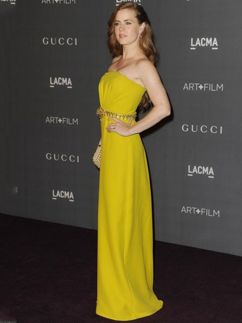<p>Amy Adams arrives for the LACMA 2012 film and art gala.</p>