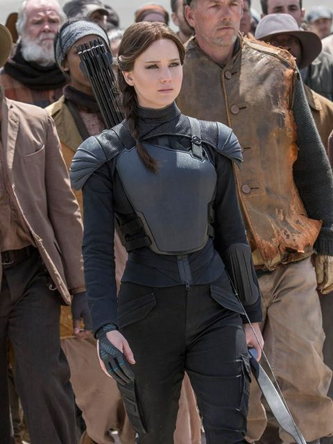<p>FILM: The Hunger Games: Mockingjay Part 2 </p>  <p>To recap: in a dystopian future, coalminer's daughter Katniss Everdeen is forced to take part in a sacrificial reality show only marginally less brutal than The X Factor, where competitors fight to the