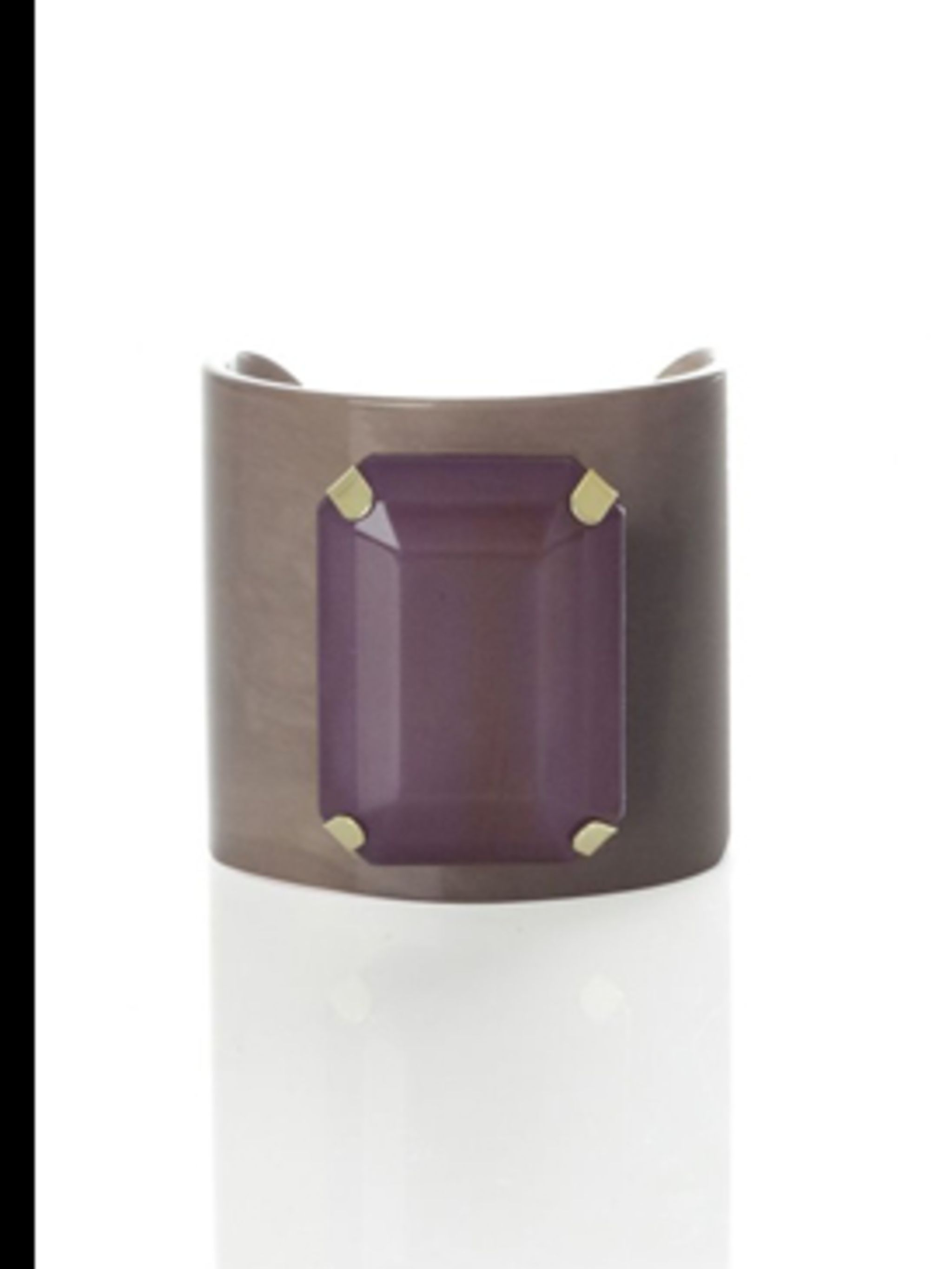 <p>Resin Potenza bracelet, £24, by Jigsaw. For stockists call 020 8392 5600</p>