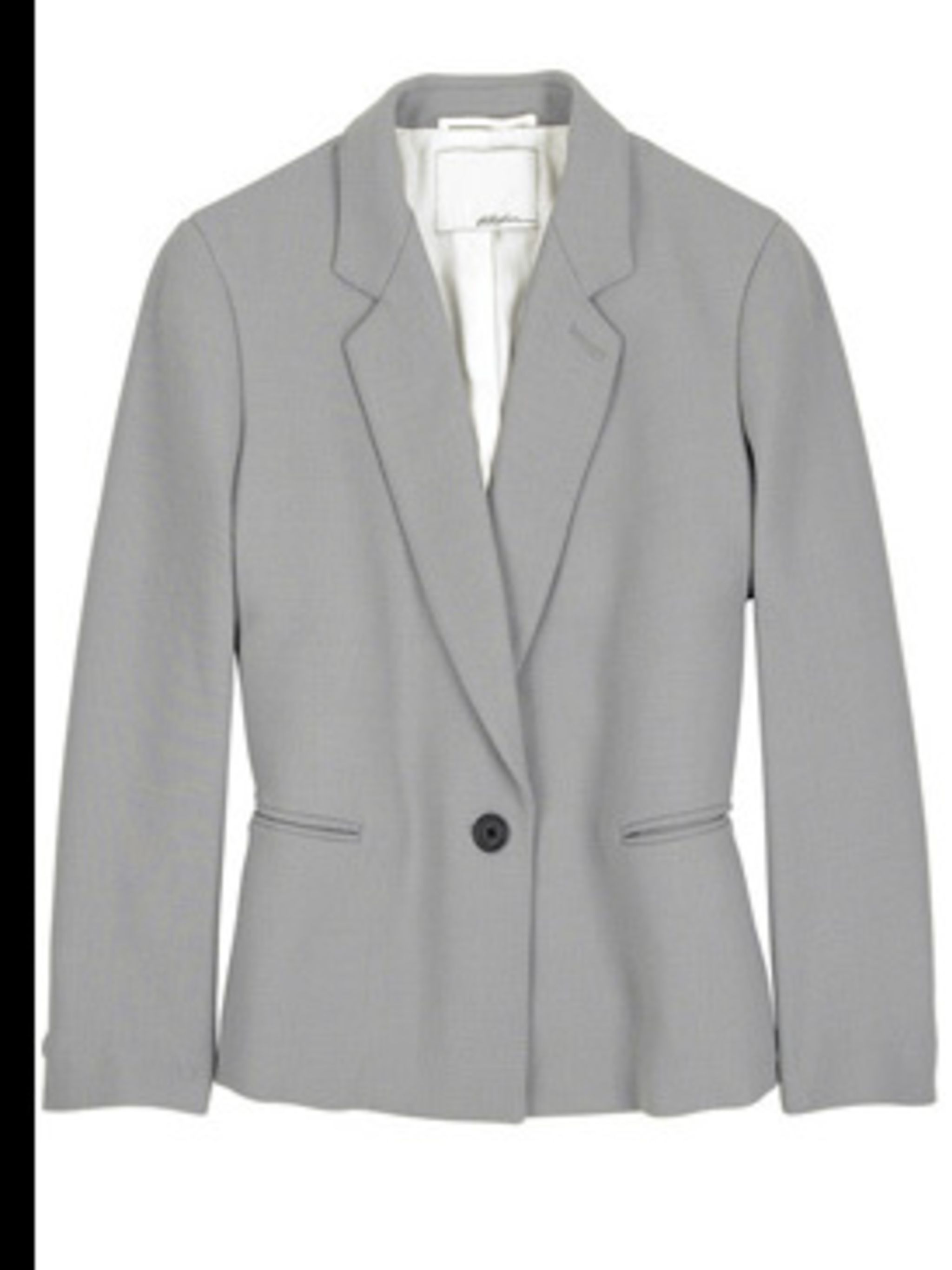 "<p>Blazer, £395.00 by 3.1 Phillip Lim at <a href=""http://www.net-a-porter.com/product/34695"">Net-a-Porter</a></p>"