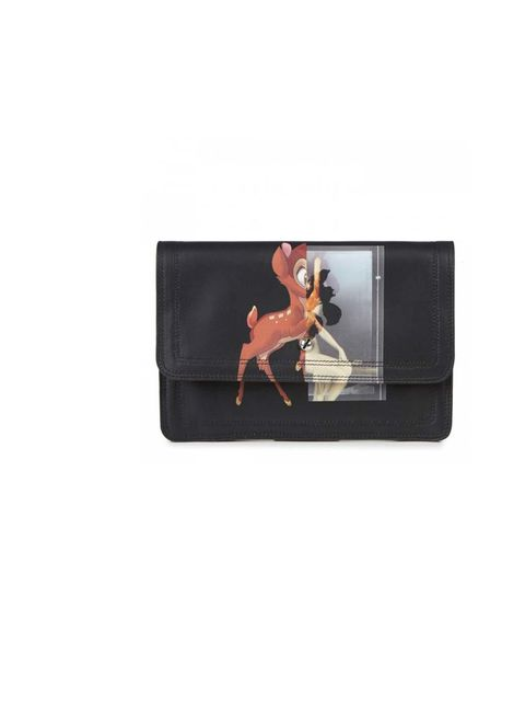 "<p>When Shakespeare said 'I burn, I pine, I perish', I think he was probably talking about this Bambi-print clutch bag.</p><p>Givenchy clutch, £1340 at <a href=""http://www.harveynichols.com/new-in/new-in-categories/new-in-women/s456910-bambi-print-leather"