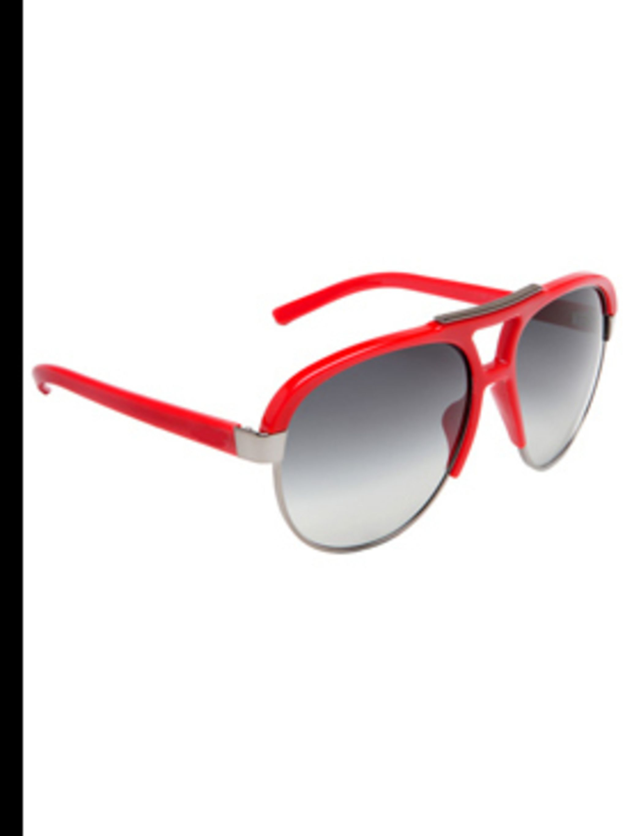 "<p>6051 Sunglasses, £84.50, by D&G at <a href=""http://www.sunglasses-shop.co.uk/uk-sunglasses/D&G-Sunglasses/D&G-6051-Red/9334.htm"">www.sunglasses-shop.co.uk</a></p>"
