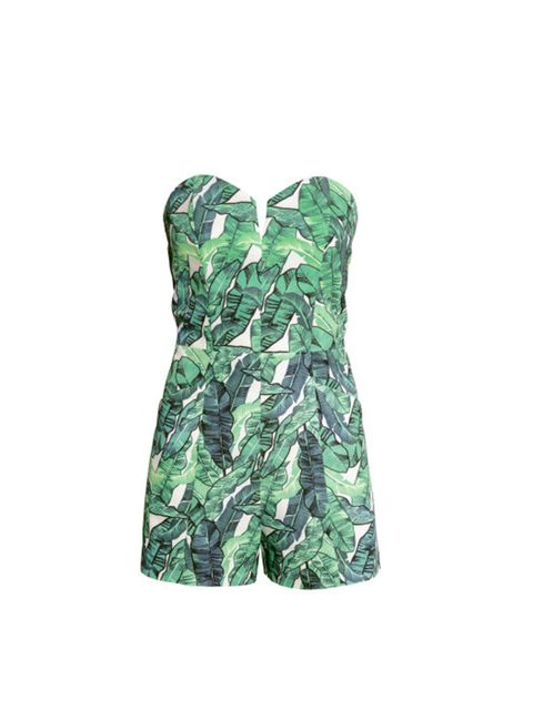 "<p>Doesn't this playsuit just shout, pool party?</p>  <p><a href=""http://www.hm.com/gb/product/84958?article=84958-A"" target=""_blank"">H&M</a> playsuit, £29.99</p>"
