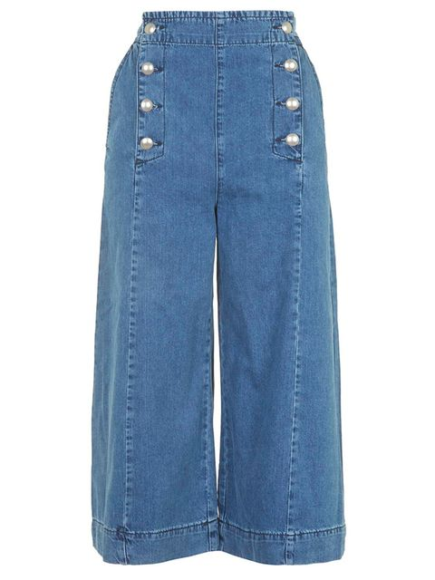 """<p>Don&rsquo&#x3B;t let your trousers dangle in muddy puddles, go all Gucci with these denim cut offs. <a href=""""http://www.topshop.com/webapp/wcs/stores/servlet/ProductDisplay?Ntt=culottes&amp&#x3B;storeId=12556&amp&#x3B;productId=20280913&amp&#x3B;urlRequestType=Base&amp&#x3B;ca"""