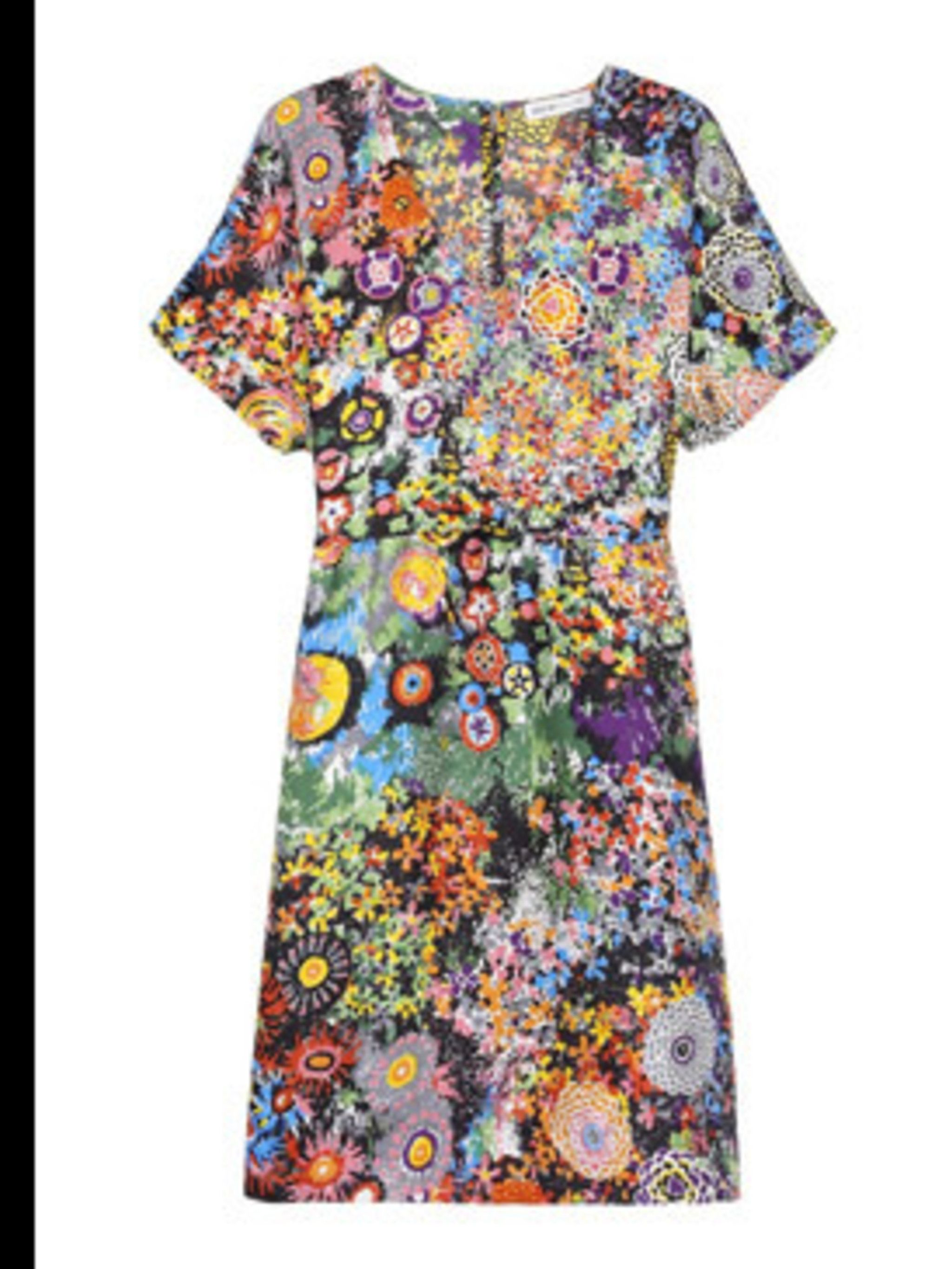 """<p>Silk mini dress, £325, by See By Chloe at <a href=""""http://www.net-a-porter.com/product/41013"""">www.net-a-porter.com</a></p>"""