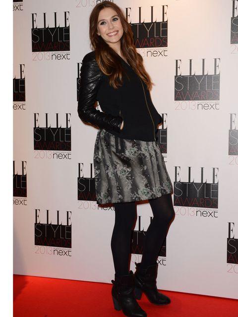 <p>Elizabeth Olsen, ELLE Style Awards 2013</p>