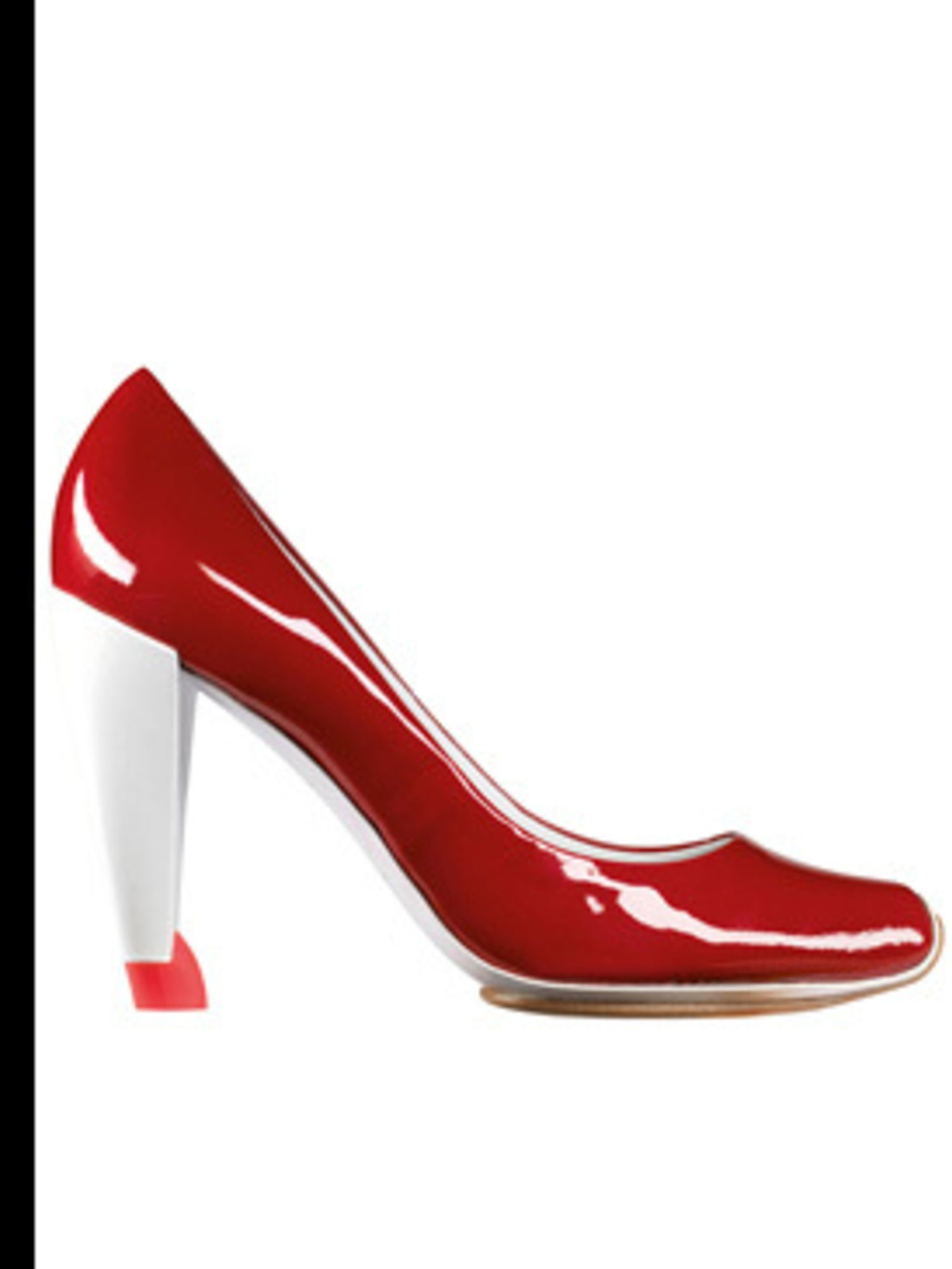 <p>Shoe, £285.00 by Celine. For stockists call 0207 297 4999</p>