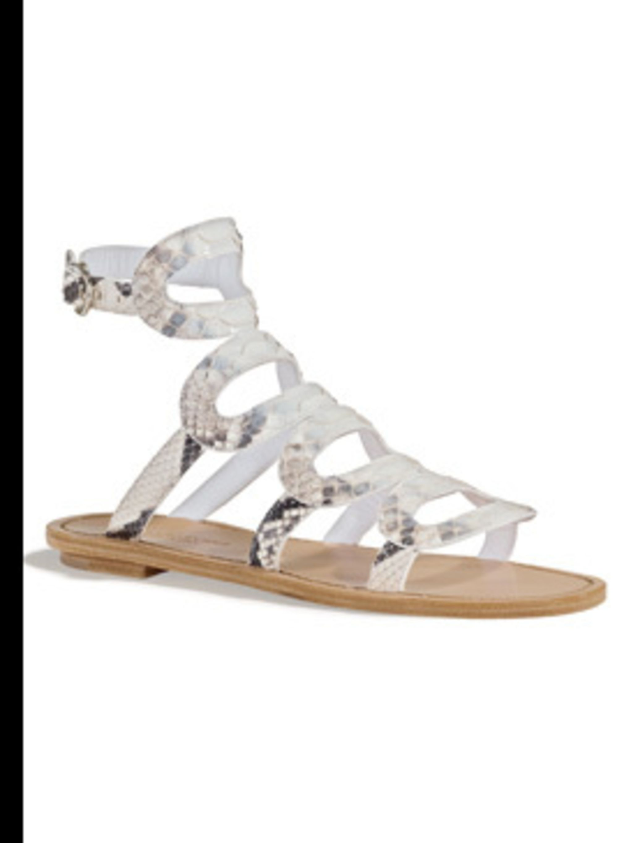 <p>Sandal, £480.00 by Segio Rossi. For stockists call 0207 811 5950</p>