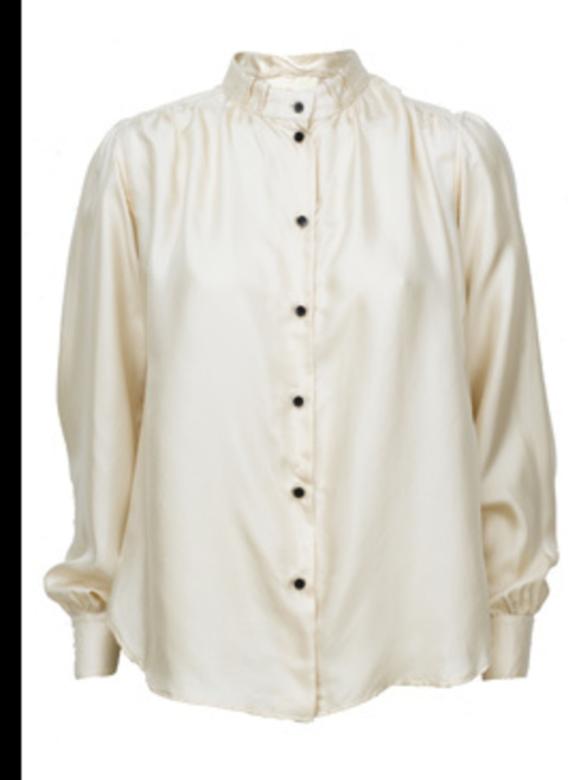 <p>Shirt, £225.00 by Alexander Wang. For stockists call Selfridges on 0800 123 400</p>