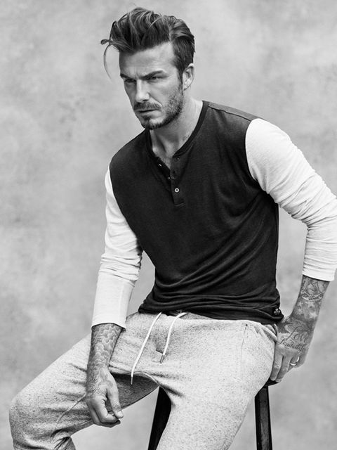 David Beckham in the 'Modern Essentials selected by David Beckham' Campaign, March 2015.
