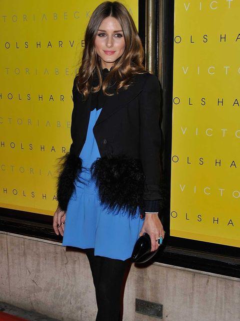 <p>Olivia Palermo celebrated Victoria Beckham's dress line in London</p>