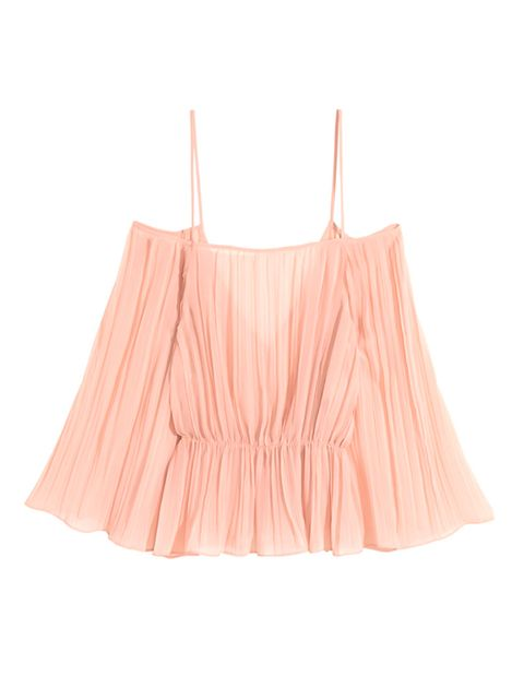 """<p>Fashion Cupboard Manager Jazz Harris will be showing off her golden tan whilst nailing the candy coloured summer trend.</p>  <p></p>  <p><a href=""""http://www.hm.com/gb/product/01355?article=01355-B"""" target=""""_blank"""">H&M</a> top, £29.99</p>"""