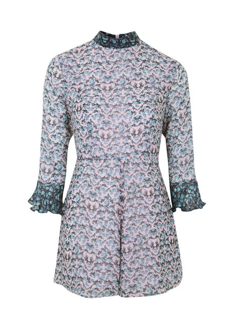 """<p>Freelance Beauty Contributor Natalie Lukaitis will wear this boho playsuit with knee high gladiator sandals.</p>  <p></p>  <p><a href=""""http://www.topshop.com/en/tsuk/product/new-in-this-week-2169932/floral-playsuit-4555244?bi=1&ps=200"""" target=""""_blank"""""""