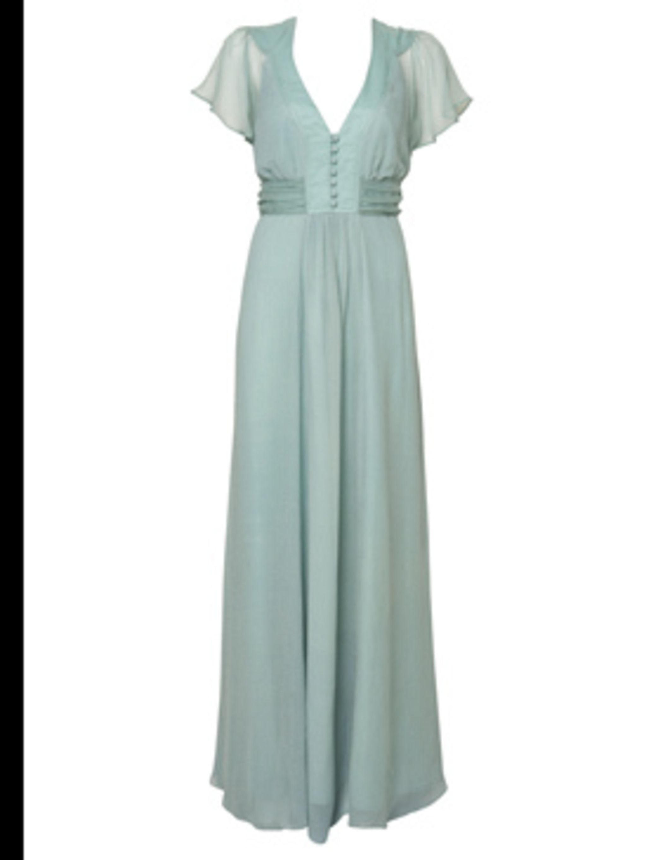 <p>Mint Empire Line Maxi Dress by Wallis, £65, 0845 121 4520</p>