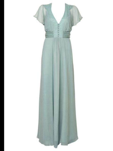 41ec81edbadba <p>Mint Empire Line Maxi Dress by Wallis, £65, 0845 121