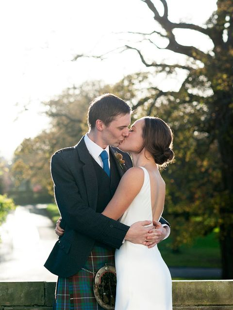 "<p>We got married in the late afternoon at <a href=""http://www.prestonfield.com/"">Prestonfield House, Edinburgh</a> - a boutique venue perfect for small, intimate weddings.</p>"