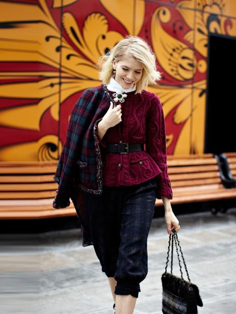 <p>Elena Perminova</p><p>Nothing says luxury quite like Chanel's Edinburgh collection.</p>