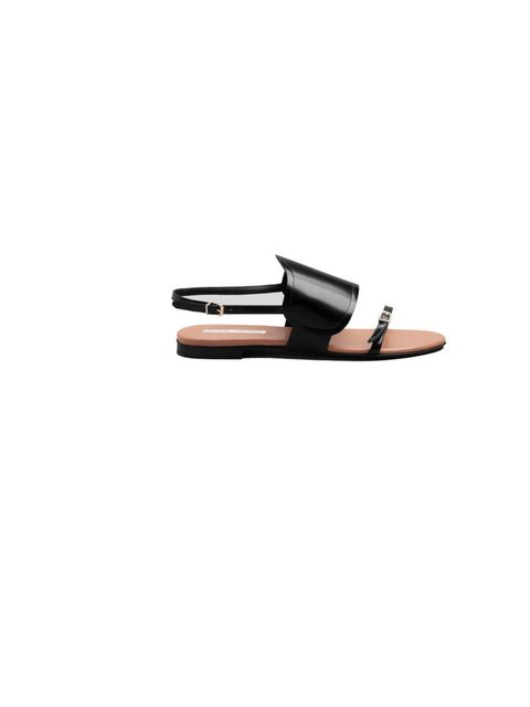 "<p>A little bit masculine, a lot cool, channel contemporary chic with these <a href=""http://www.stories.com/New_in/Shoes/Flat_Leather_Sandals/591743-575618.1"">&amp; Other Stories</a> sandals, £55</p>"