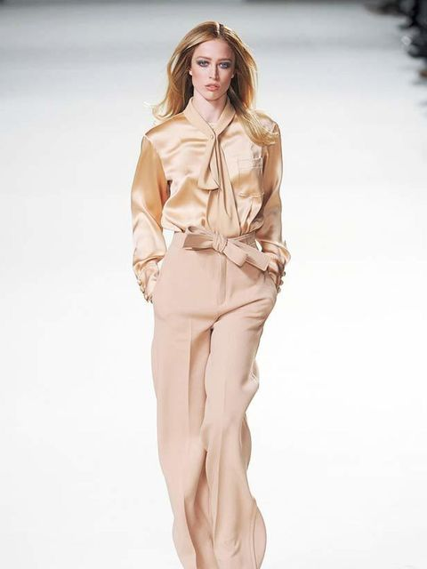 <p><strong>1970s Heroine:</strong> You may have noticed already that camel is set to be the colour of the season. A cashmere coat in a variation of the shade is going to be a vital part of your wardrobe come winter, but for now focus on tailoring. The loo