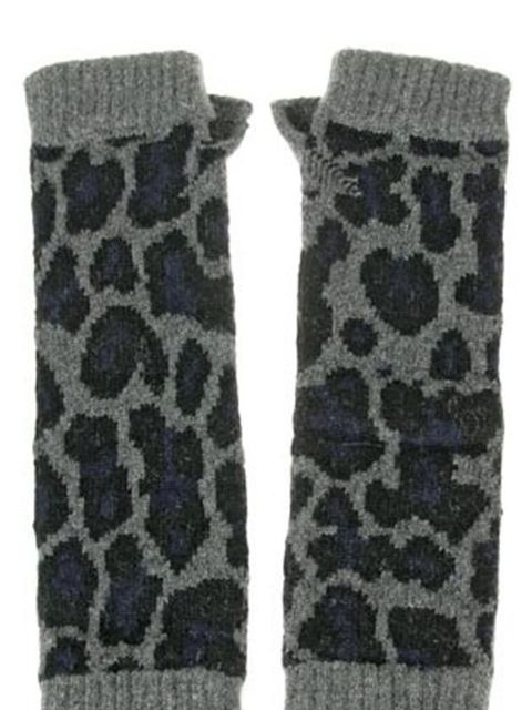 <p>Leopard print gloves, £160, by Christopher Kane at Net-a-Porter</p>