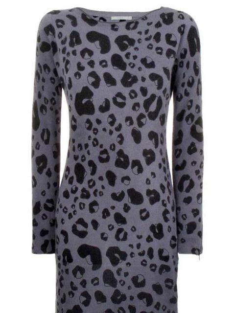 <p>Animal print wool dress, £59, by COS (0207 478 0400)</p>