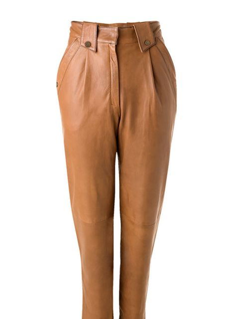"<p><a href=""http://shop.mango.com/ficha.faces?id=36315551&amp&#x3B;state=she_001_006_IN"">Mango</a> leather trousers, £169.90</p>"