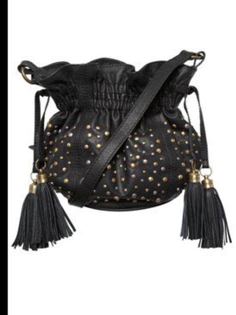 """<p>Black bucket bag, £40, by <a href=""""http://www.oasis-stores.com/pws/Home.ice"""">Oasis</a></p>"""