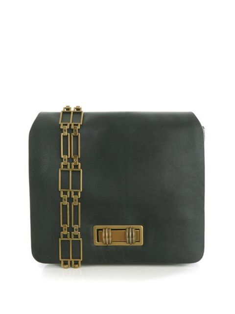 """<p>Raoul green leather bag, £198, at <a href=""""http://www.matchesfashion.com/fcp/product/Matches-Fashion//raoul-rao-y-lrbg387-bags-DARK-GREEN/42645"""">Matches</a></p>"""