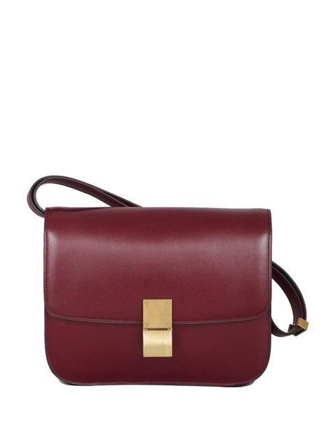 <p>Celine Classic box bag, £2,150, at Selfridges for stocksits call 0800 123 400</p>
