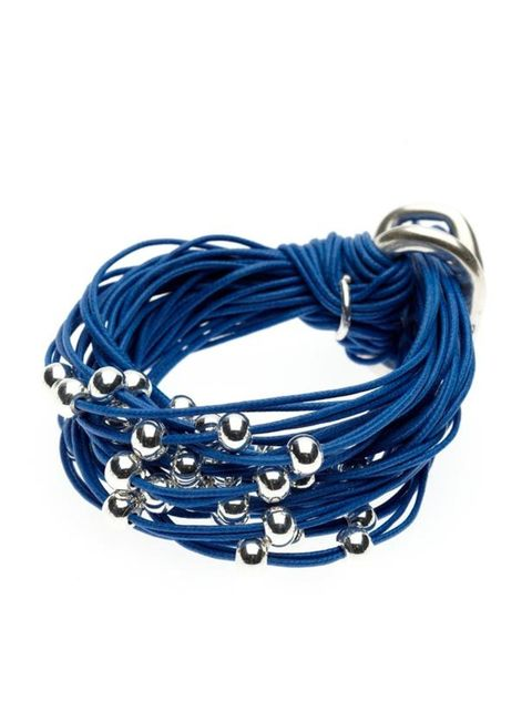"<p>Multi-ball and strand bracelet, £110, by 10m2 at <a href=""http://www.oritlondon.com/10m2/B010/b010_1.htm"">Orit London </a></p>"